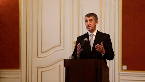 Czech PM signs power-sharing deal with Communist Party
