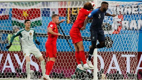 Umtiti header sends France into World Cup final