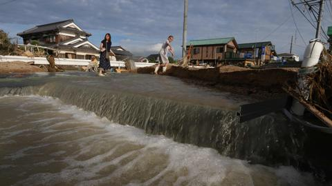 At least 179 killed in Japan floods
