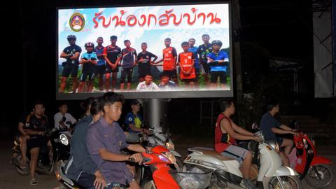 Thai cave boys lost weight but 'in good condition'