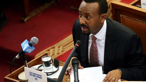 Ethiopia's Prime Minister Abiy Ahmed marks 100 days in office
