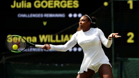Serena to face Kerber in her 10th Wimbledon final