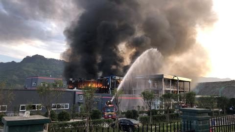 Blast at chemical plant in China leaves 19 people dead