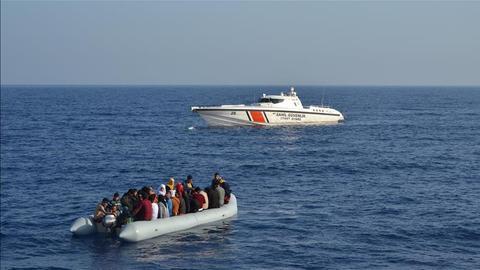 Nine die as refugee boat sinks off Turkey's Aegean coast