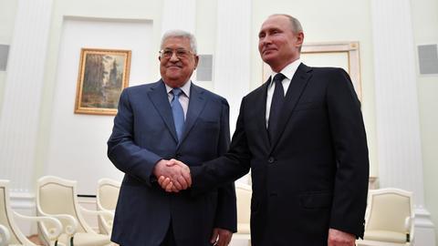 Abbas says 'resisting' US bids to 'impose' decisions on Palestine