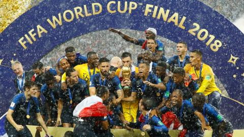 Football: France clinch World Cup with win over Croatia