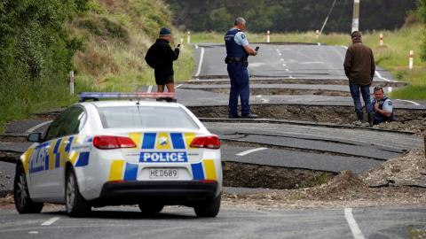 Devastation as New Zealand suffers back-to-back earthquakes