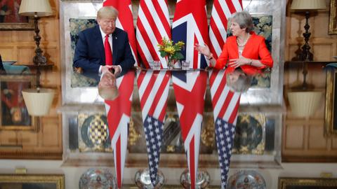 Trump's UK visit: what really happened, and who was behind the fake news?