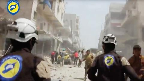 US and its allies set to evacuate White Helmets from southwest Syria