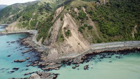 New Zealand whale-watching town cut off by landslides