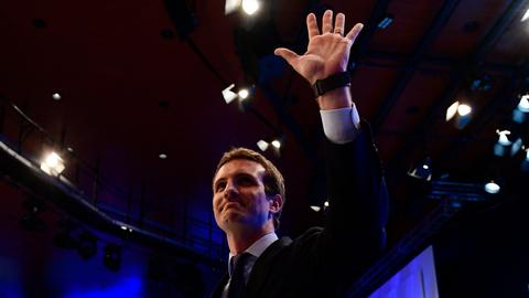 Spain's conservative party picks Casado to replace Rajoy as leader