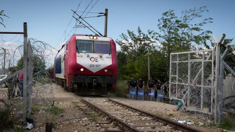 Greece train hits migrants, kills two in two separate incidents