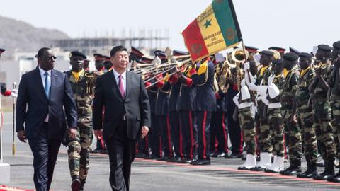 China's Xi pledges stronger Africa ties during Senegal visit