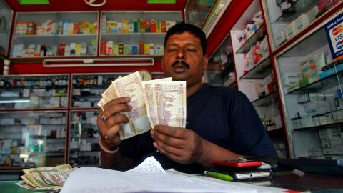 Modi's shrewd attack on black money