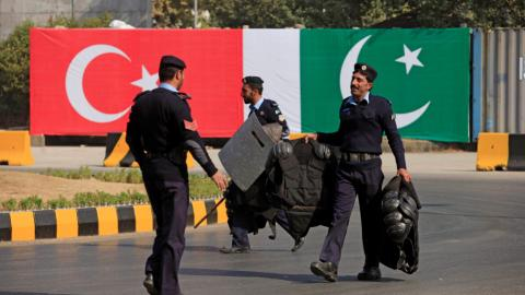 Turkey vows to continue supporting Pakistan's defence