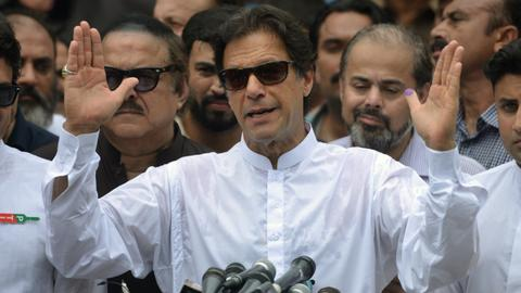 Khan to be Pakistan's next PM as ex-leader's party admits defeat
