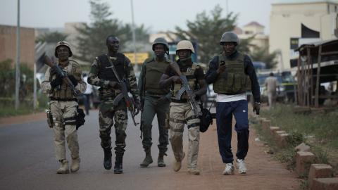 Attacks kill 5 soldiers and a civilian in Mali during key vote