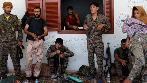 US-backed militants eye 'decentralised' Syria in talks with Assad regime