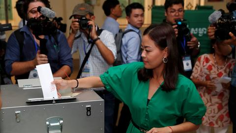 Polls open in Cambodia election with main opposition silenced