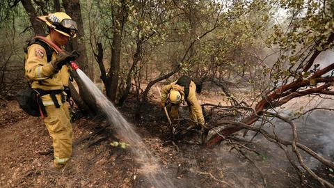 Monster California wildfire kills 5, including children