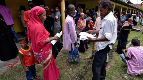 4 million people in India's Assam state excluded from national register