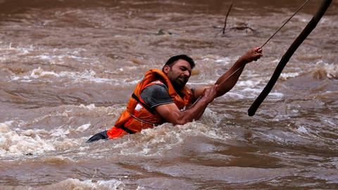 In pictures: six states affected by monsoon rains in India