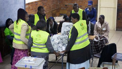 Zimbabwe awaits results in first general elections since Mugabe's removal
