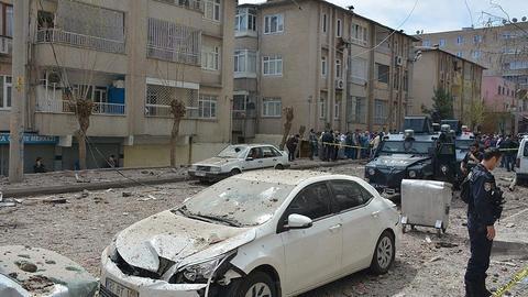 Roadside blast kills woman and her baby in Turkey's Hakkari