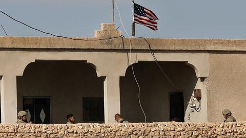 Trump is pulling all US troops out of Syria - US officials