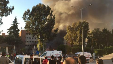 Two killed after explosion in Turkey's Adana