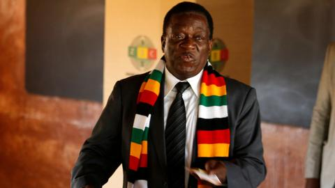 Mnangagwa hails 'new beginning' after Zimbabwe election win