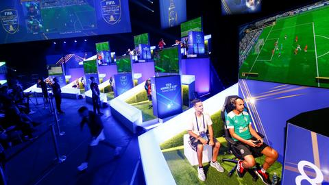 FIFA's virtual World Cup kicks off