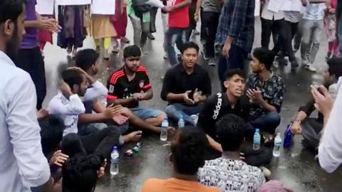 Bangladesh capital hit by mass protests after buses kill students