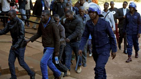 Zimbabwe opposition members face election violence charges
