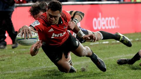 Crusaders outclass Lions 37-18 for 9th Super Rugby title
