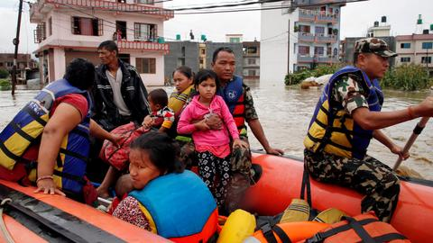 14 dead in landslides and floods in Nepal