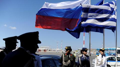 Russia expels Greek diplomats in retaliatory move