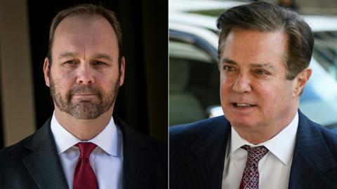 Rick Gates testifies against Manafort in tax fraud case