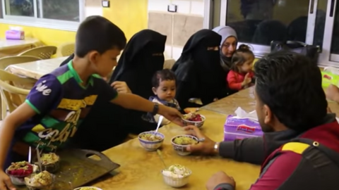 Ice cream helps Syrians stay cool in the summer heat
