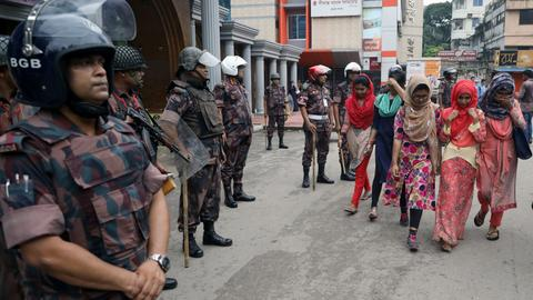 Bangladesh government slammed for attacks on students