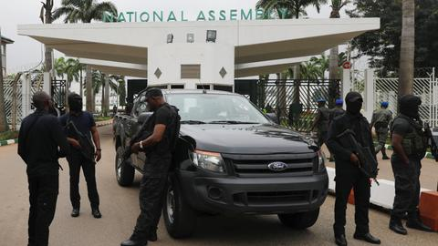 Nigeria's secret police chief dismissed after parliament blockade