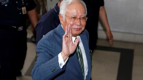 Malaysia's ex-prime minister Najib charged with money laundering