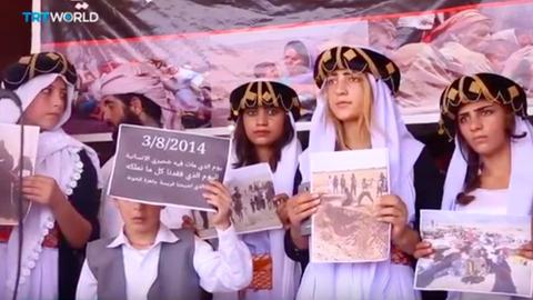 Iraq's Yazidis mark massacre anniversary