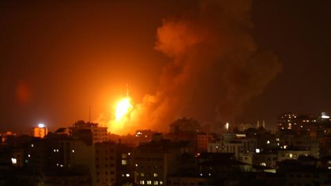 Three Palestinians killed, 12 injured in Gaza after Israeli strikes