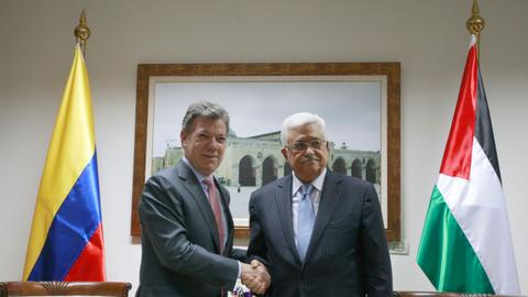 Colombia recognises Palestine as independent state
