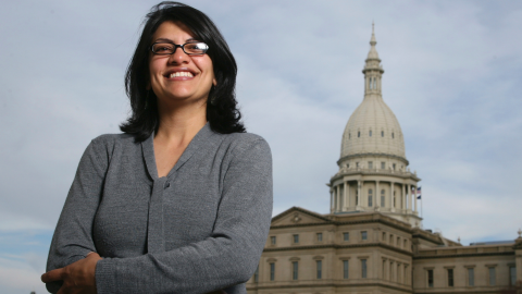 Rashida Tlaib set to become first Muslim woman in US Congress