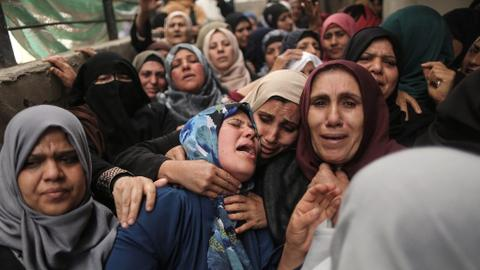 Palestinian charity pays debts of those killed during protests