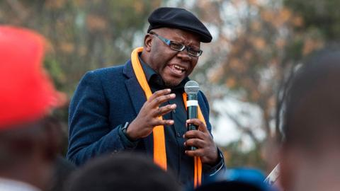 Zimbabwe opposition official deported from Zambia after asylum bid rejected