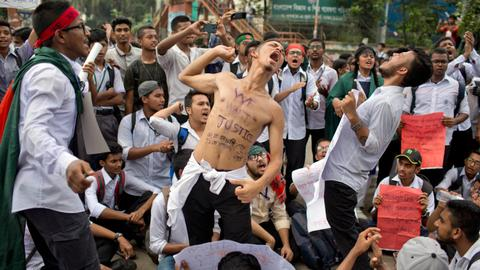 Protests in Bangladesh reveal the deep insecurity of the government