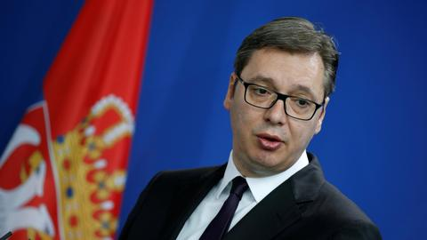 Serbia leader suggests compromise on Kosovo border definition